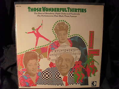 V.A. - Those Wonderful Thirties     2 LPs