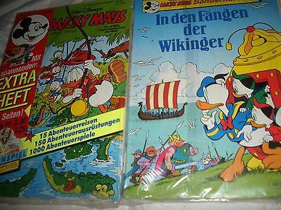 472 , Micky Maus Sonderheft Nr. 1  + Nr. 4 / 1989  , ovp. , Sammlerstück