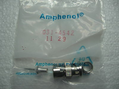 (44) Amphenol 31-4542 Quicktrim Bnc Connectors 031-4542 --- Lot Of 44