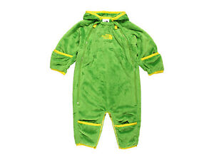 North Face Baby Boys Scottish Moss Green Buttery Bunting