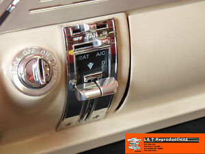 1955-56-Chevy-Heater-Controll-Knobs-Billet-Dash-Belair-Sedan-Wagon-Hardtop-Set-4