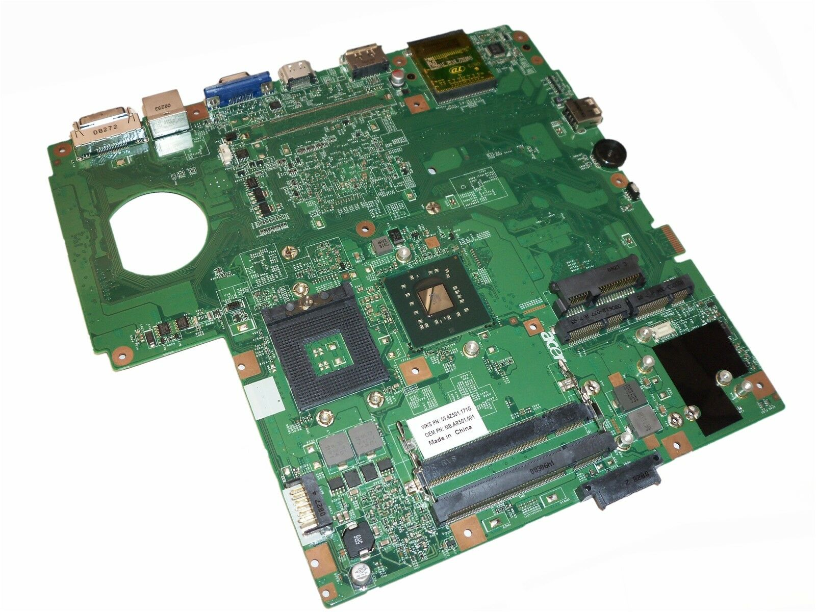 Acer Aspire 5930 Series Laptop Motherboard As5930 Mb.ar501.001 / Mbar501001
