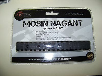 Aim Sports Mng M44 & Mosin Nagant Scope Mount Accepts All Weaver Standard Rings