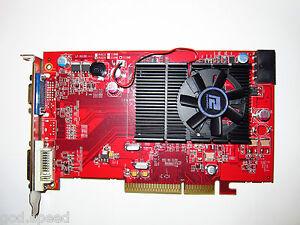 ATI-HD-512MB-4X-8X-AGP-Dual-Monitor-Display-View-Single-Slot-Video-Graphics-Card