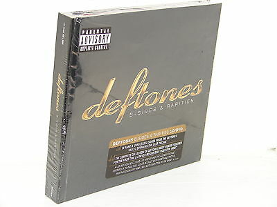 DEFTONES: B-SIDES & RARITIES (2 DISC CD & DVD)  ***NEW SEALED***