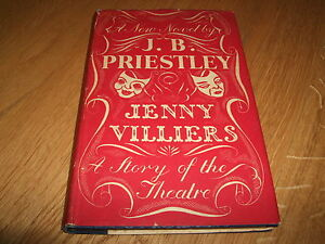 J-B-PRIESTLEY-JENNY-VILLIERS-SIGNED-LETTER-1ST-1947-HB-VG-HEINEMANN-RARE