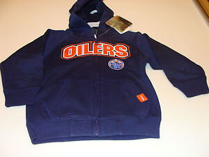 2012-Edmonton-Oilers-NHL-Hockey-Age-2-Team-Kids-Child-Full-Zip-Hoodie-Hoody