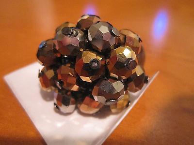 Avon Sparkling Rainbow Ring Gold/silver Metallic