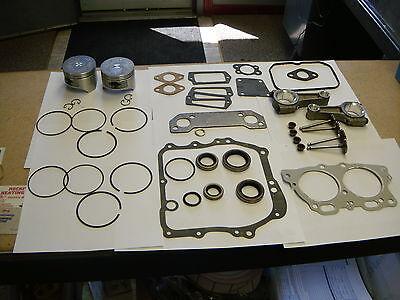 EZGO GOLF CART ENGINE REBUILD KIT 295CC ROBIN ENGINE 2003-UP MCI 0.50 Oversized