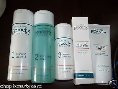 PROACTIV Solution 5 Pc Kit 60 Day NEW FORMULA~PROACTIVE-FREE SHIPPING on Rummage