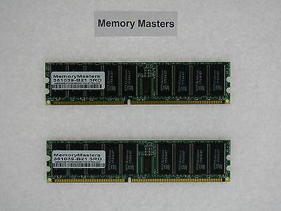 361039-b21 4gb (2x2gb) Pc2700 Memory For Hp Proliant