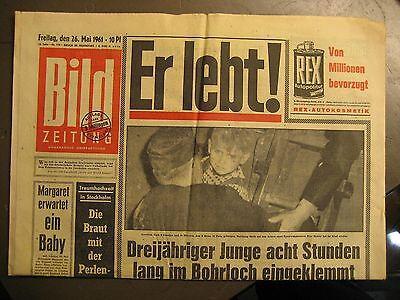 BILD ZEITUNG 26.5.1961 - EINTRACHT BRAUNSCHWEIG