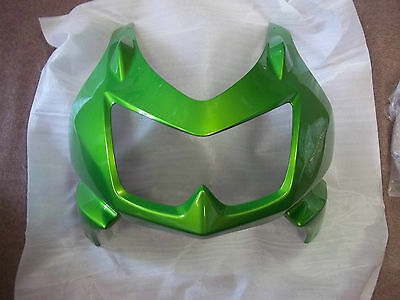 2012 12 Kawasaki Ninja 250 250r Ex250 Kawasaki Green Upper Nose Fairing