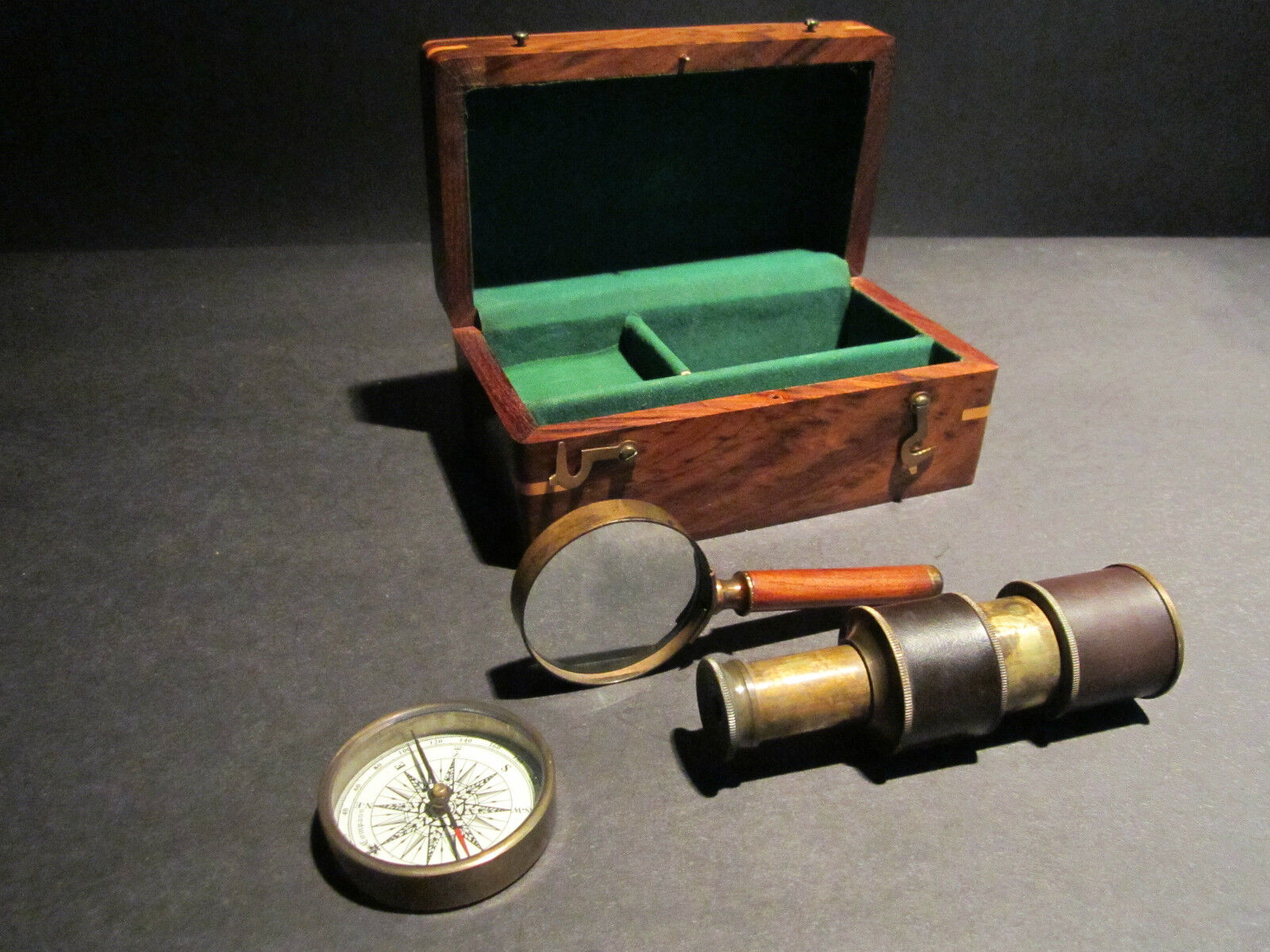 how to make a telescope with magnifying glasses
