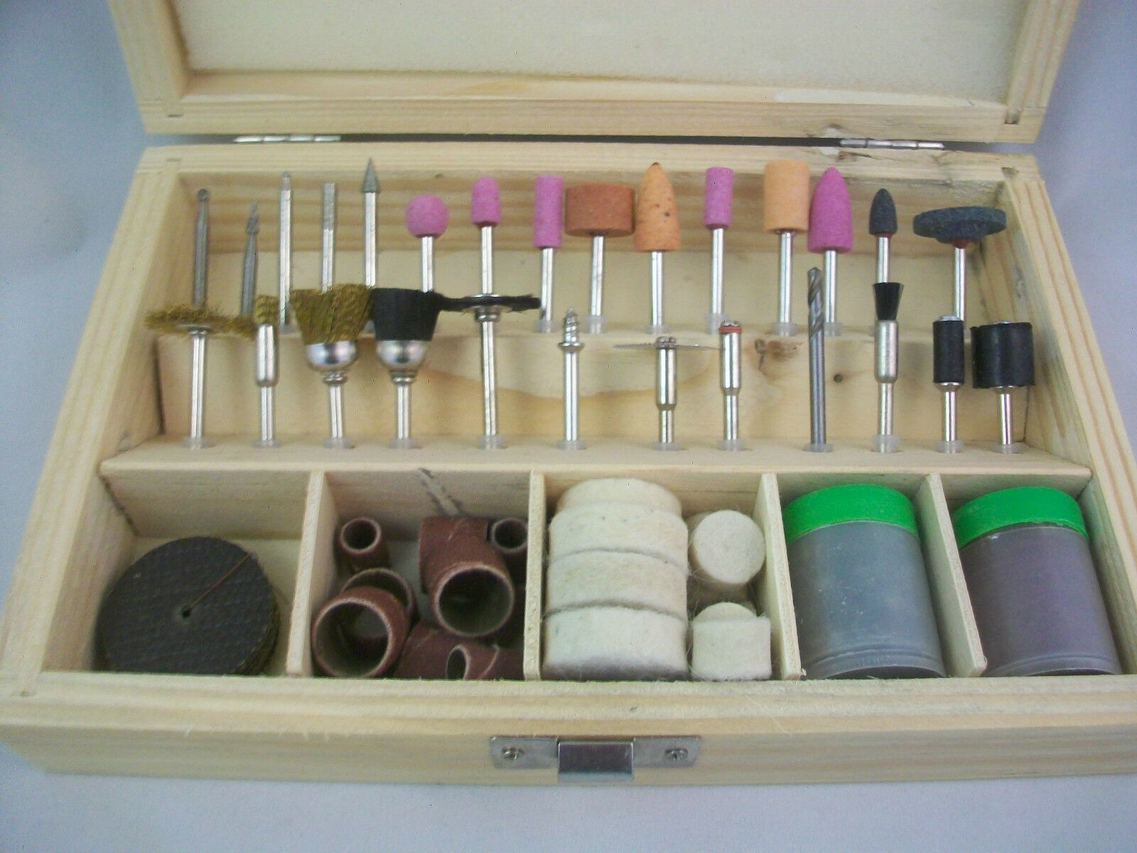 Rotary Tool Accessory 100 Pc Works With Dremel And Other Rotary Tools