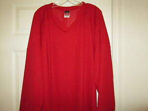 Alleson-Athletic-Team-Scarlet-Red-Hockey-Jersey-New-Mens-XL