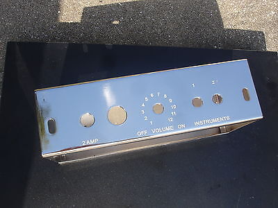 5F1 Champ Amp Chassis   Free Ch Knob   Strain Relief Bush Free Shipping