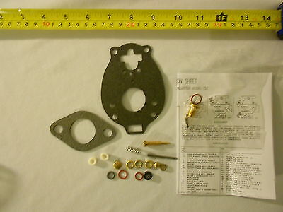 Allis Chalmers Carburetor Rebuild Kit B, C, Ca, D14, D15, Wc, Wd, Wd45