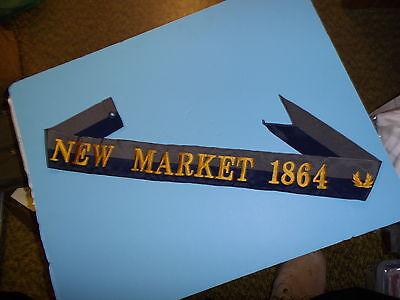 b1351 US Army Civil War Flag Streamer New Market 1864 VMI