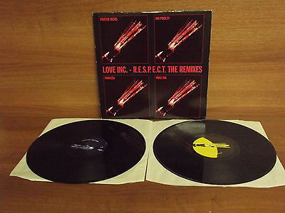 LOVE INC : R.E.S.P.E.C.T : The Remixes : 2 Record Set : Force Music