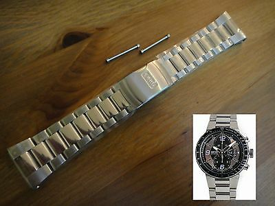 ORIS WILLIAMS F1 CHRONOGRAPH s/ STEEL # 82475 band bracelet strap # 679 7614 MB