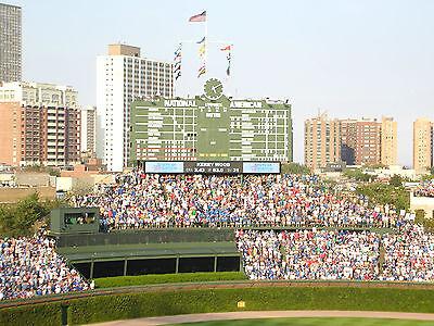2 Bleacher Tix - BONUS VIP Early Entrance Chicago Cubs vs Pirates 4/16/17