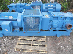 Large 200 Hp Motor Voigt Fluid Coupling And Sumitomo Gear