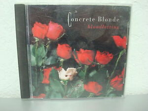Bloodletting by concrete blonde cd may 1990 capitol emi records 022071303729 ebay - Cd concreet ...