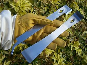 Set of 2 Beekeepers polished Stainless hive tools