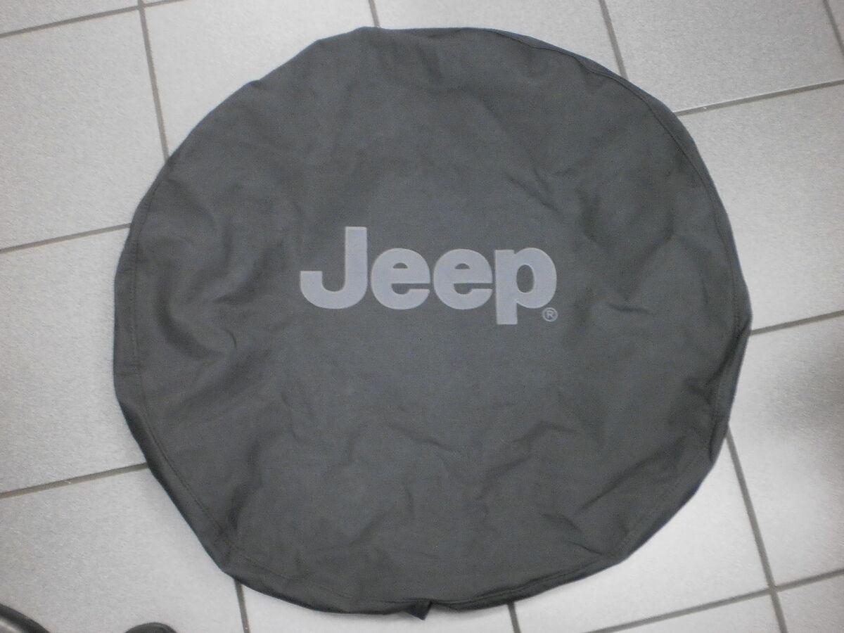 Jeep Wrangler JK Black Spare Tire Cover 82209950AB New Mopar Accessory