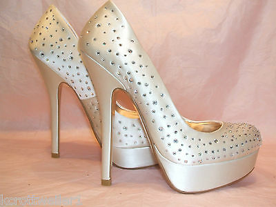 Rrp £135 Bnwb Dune Size 3 5 6 7 8 Ivory Cream Diamante Brightly D Bridal Shoes