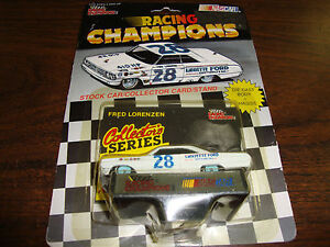 Fred-Lorenzen-Legends-1-64-Scale-Diecast-With-Card-Stand-1992