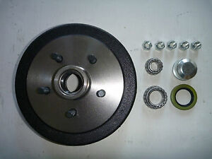 BRAKE-DRUM-9-LANDCRUISER-5-STUD-100-SERIES-WITH-BEARING-KIT-Trailer-Parts