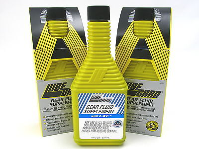 Lubegard Standard Gear & Rear End Transmission Oil Additive 3 Pack 30903