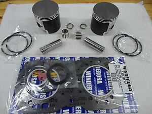 POLARIS 500 PISTON TOP END KIT FITS INDY CLASSIC RMK SKS SUPER SPORT TRAIL DELUX