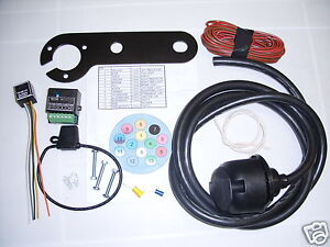 Universal-13-Pin-European-Electric-Towbar-Wiring-Kit-charging-Audible-relay