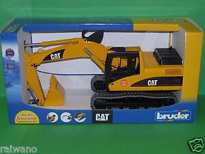 Bruder 02438 Caterpillar Schaufelbagger Blitzversand per DHL-Paket