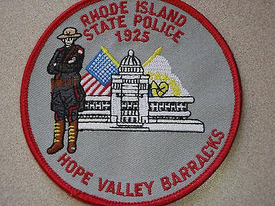 RHODE ISLAND STATE POLICE HOPE VALLEY BARRACKS