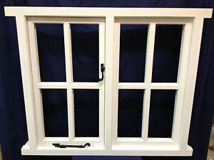 Traditional Timber Wooden Cottage Style Casement Window Made To Measure!!!