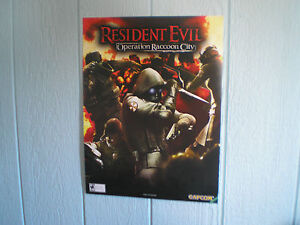 Resident Evil: Operation Raccoon City Poster    NEW