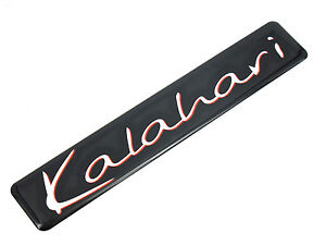 Genuine-New-LAND-ROVER-KALAHARI-BADGE-Emblem-Freelander-Discovery-LR2-Defender