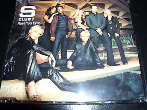 S Club 7 Have You Ever Rare Australian Enhanced CD Single - NEW