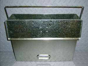 NEW-Large-Galvanised-Ash-Carrier-Tidy-Holder-Coal-Log-Fire-Stove-All-Purpose