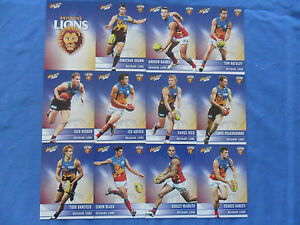 2012-SELECT-CHAMPIONS-AFL-CARDS-BRISBANE-LIONS-BASIC-TEAM-SET