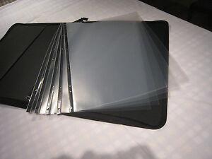 PLASTICO-Transparente-A1-Artista-Presentacion-Fundas-5-10-20-100-Packs