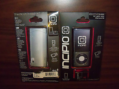 Ipod Nano 5g Clear Case Protector Cover With Video Stand Light Gray Nip
