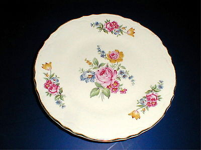 Scio Pottery HAZEL Large Rose Dinner Plate/s  on Rummage