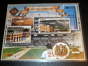 Orioles-Camden-Yards-Opening-Day-April-6-1992-Commemorative-LimEd-Lithograph-SGA