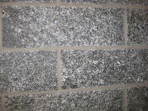 Granit Verblender für Wand+ Haussockel -Supergünstig- 31x10x ca.1,5 cm Musterpl.