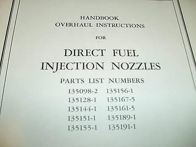 Bendix Direct Fuel Injection Nozzles Service Manual